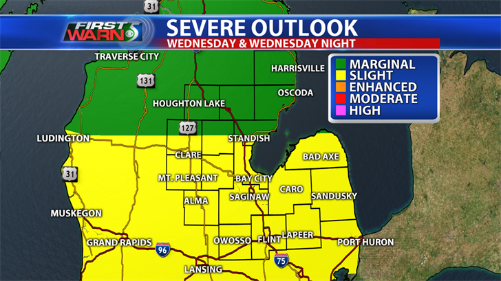 Severe weather in Metro Detroit: Latest watches, warnings, info