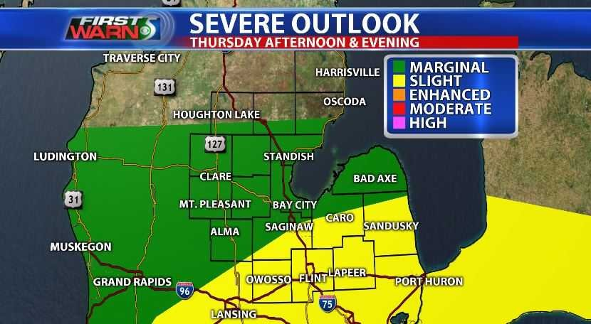 NWS: rainy weekend likely, with possible severe thunderstorms this evening