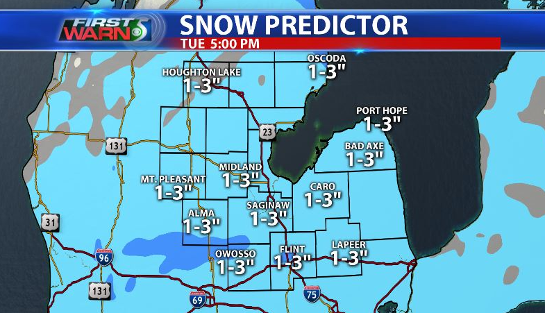 Strong Chance Of Winter Weather Starting Early Tuesday Morning