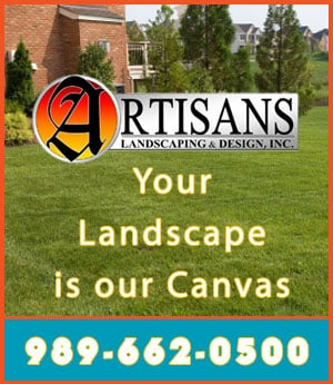 Artisans Landscaping & Design - Sponsorship Header