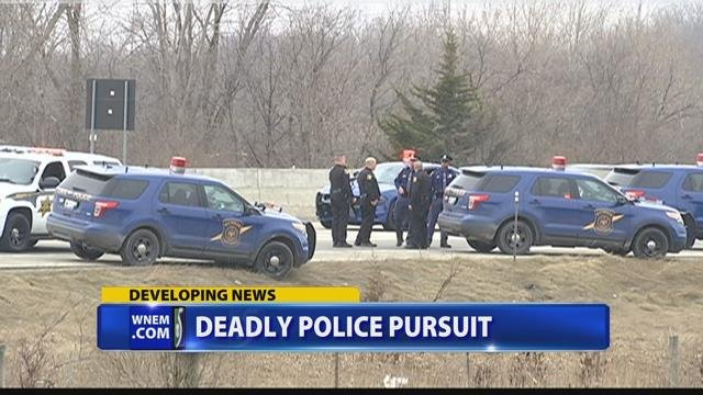 1 dead after police pursuit in multiple counties