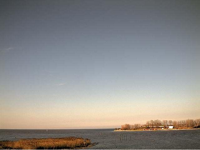 Sunshine over the Saginaw Bay Saturday