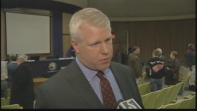 Stephen Busch during Jan. 2015 interview with TV5. (Source: WNEM TV5)
