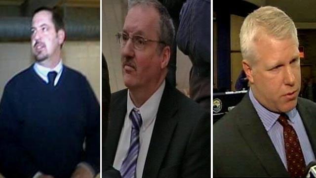 Michael Glasgow (left), Michael Prysby (center), and Stephen Busch (left); (Source: WNEM)