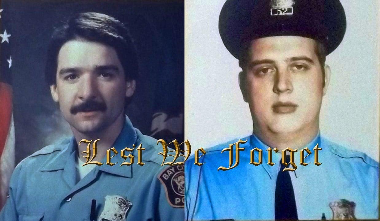 Raymond Rexer (L), Terry Jablonski (R) (Source: Bay City Public Safety Dept.)