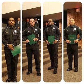 L-R: Deshawn Harris, Kyle Kaylor, Terrance Moore, Dominic Vasquez (Source: Saginaw Police Dept.)