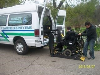 (Source: Lapeer County EMS)