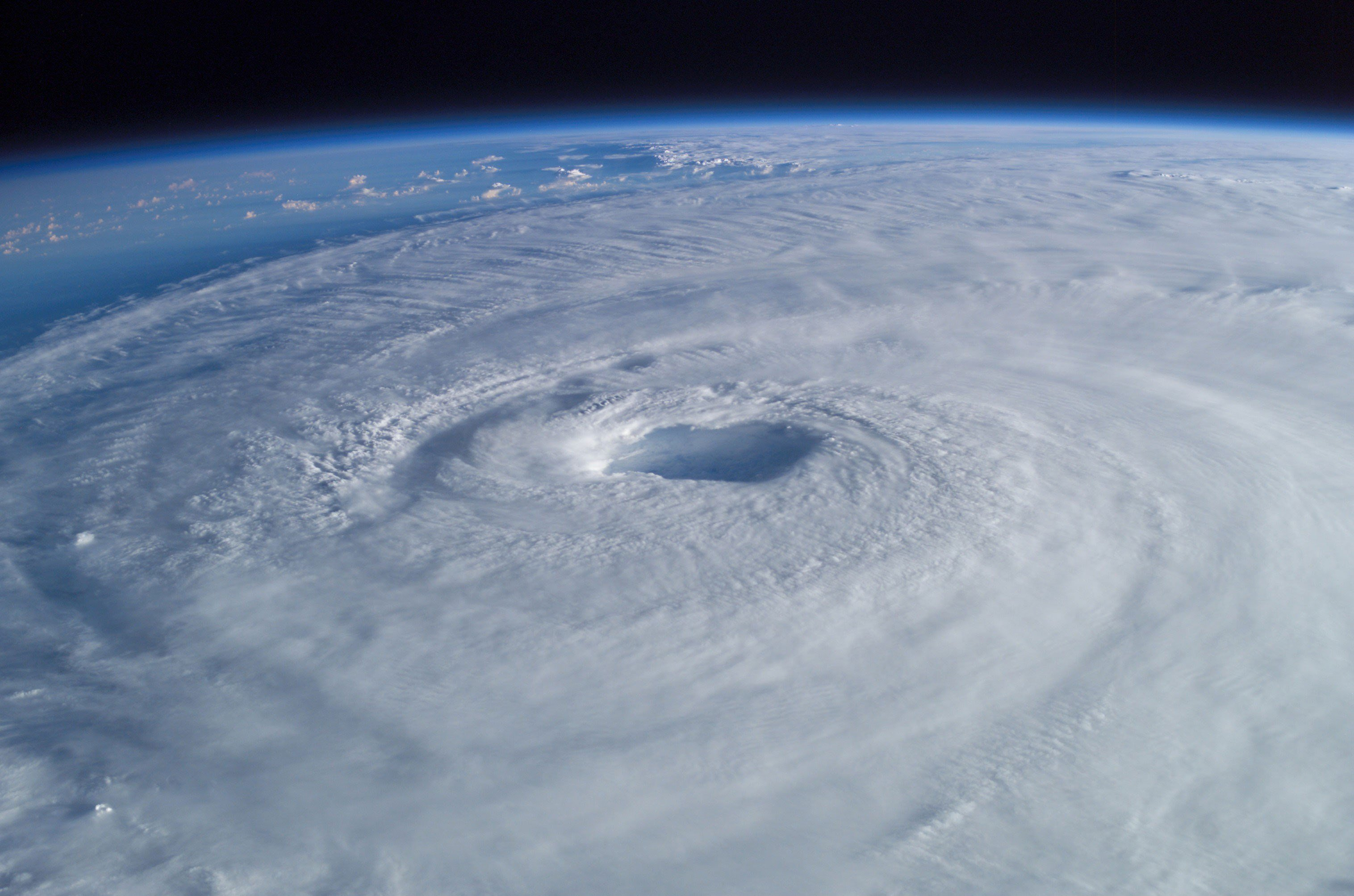 Hurricane Isabel from space in 2003