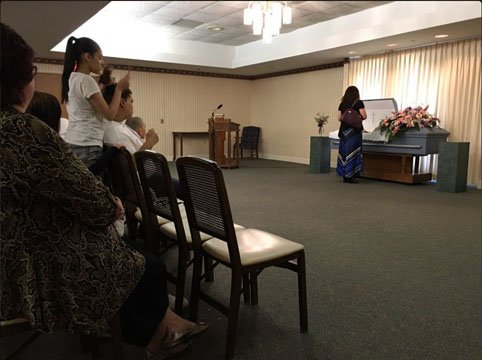 Amber Morris funeral (Source: WNEM)