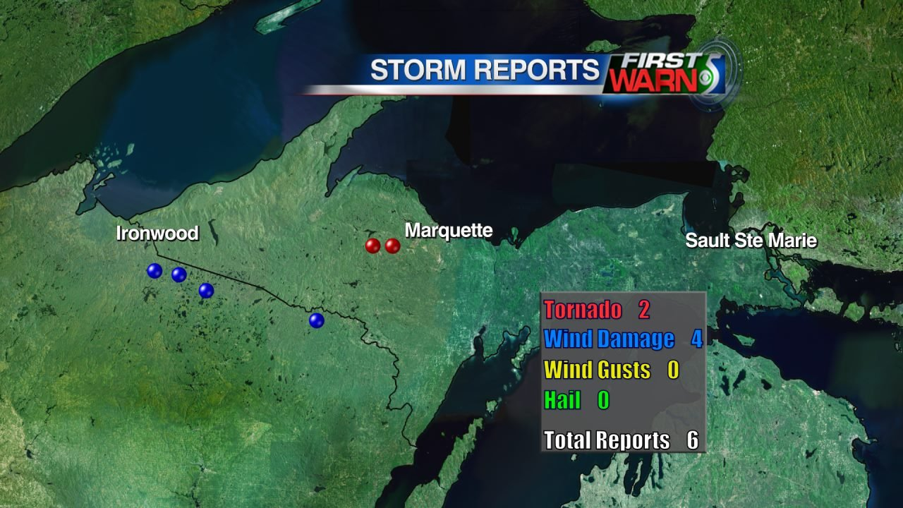 Severe Weather Reports - May 24, 2016