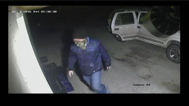 Caught on Camera: Two suspects break into store