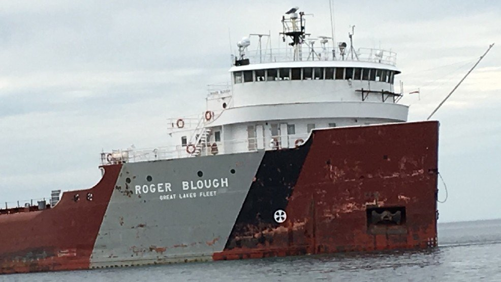United States cargo ship remains stuck in St. Mary's River