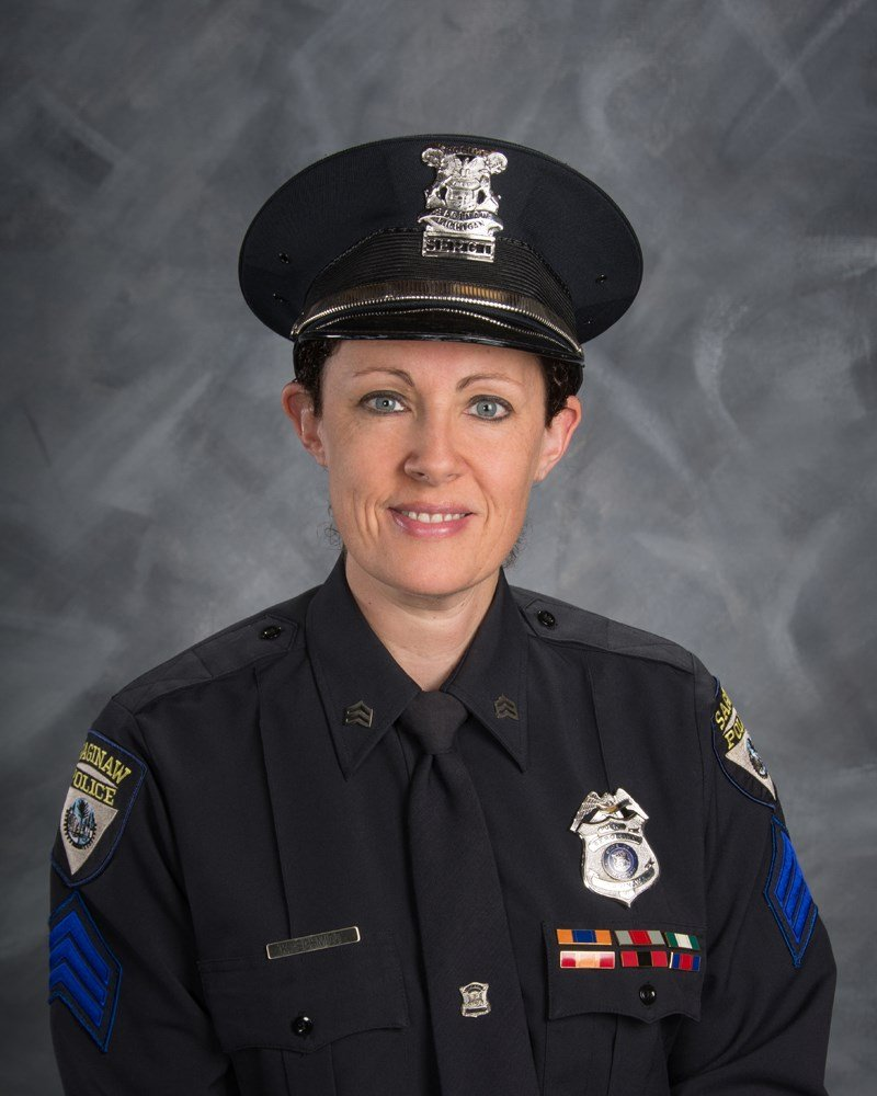 Sgt. Kelly Schmidt (Source: Saginaw Police Dept.)