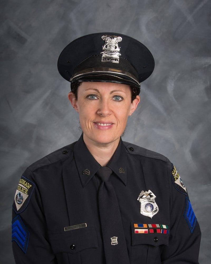 Sgt. Kelly Schmidt (Source: Saginaw Police Dept.)