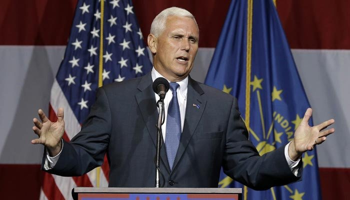 Reports indicate that Gov. Mike Pence, R-IN, will likely be Donald Trump's choice for running mate. (Source: AP Photo)  Read more: http://www.wnem.com/story/32446265/reports-trump-leaning-toward-pence-as-running-mate#ixzz4EP1MpzHR