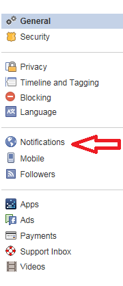 how to turn off all live notification on facebook