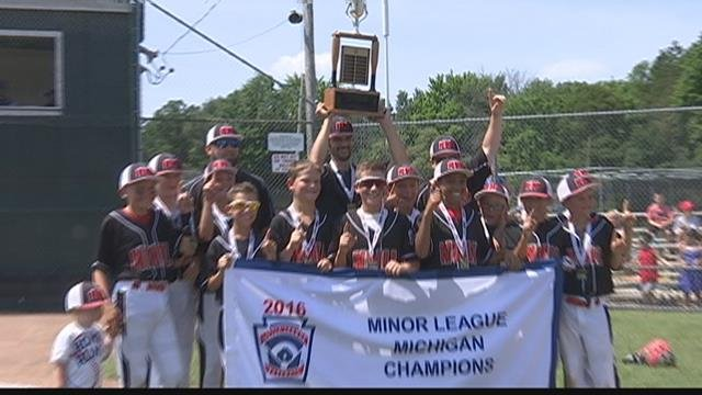 Bay City NW defeats Union Twp for state little league title