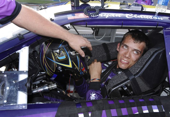Bryan Clauson, considered the top dirt-track racer in the country, has died from injuries suffered in an accident at the Belleville (Kansas) Midget Nationals USAC midget race. He was 27. (Source: AP/Rainier Ehrhardt, File)