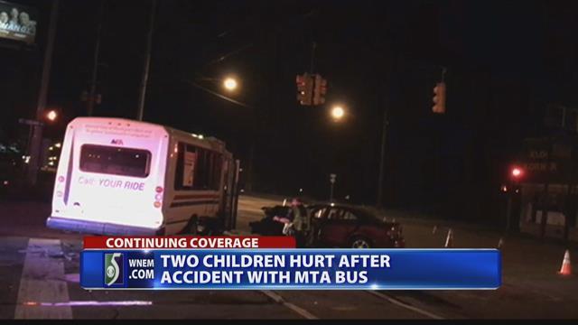 Police: Speed, alcohol factors in crash that hurt 2 girls