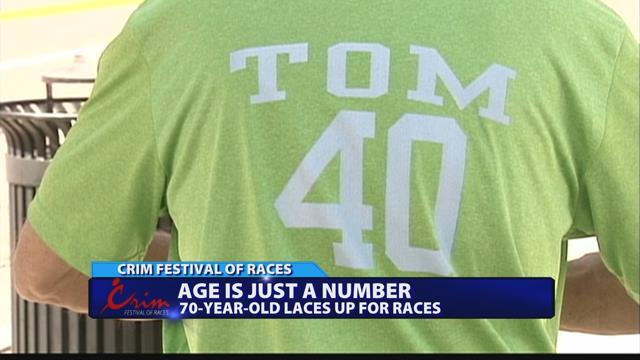 70-year-old runner to run 40th Crim race
