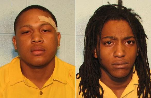 Ahrico Bradley (left) and Ernest Murray. Source: Flint Police
