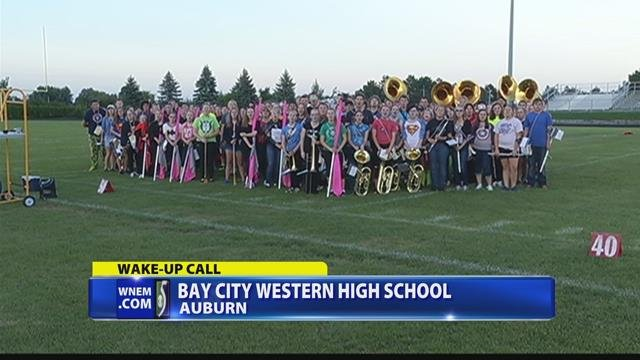 Wake up call from western high school wnem tv 5