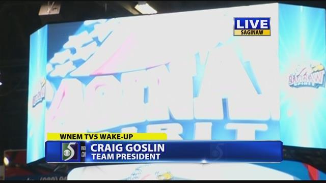 New state-of-the-art scoreboard for Saginaw Spirit