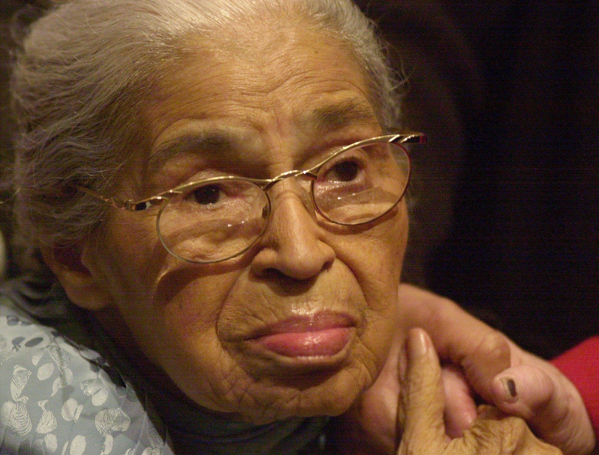 Rosa Parks (Source: AP: File, Dec. 1, 2001)