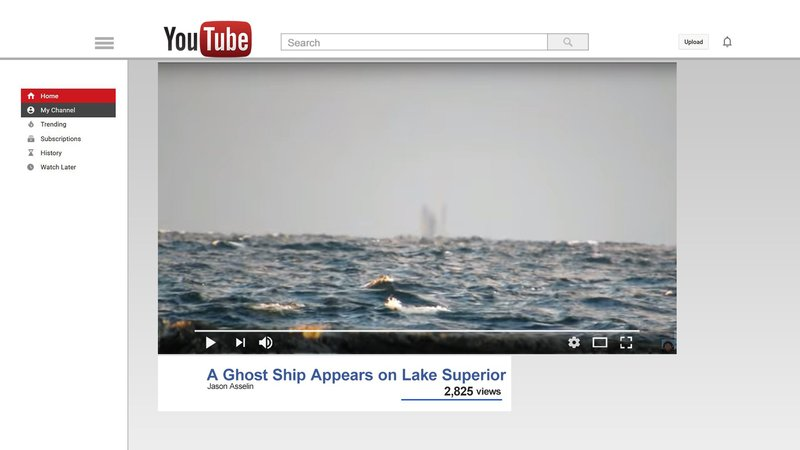 Ghost Ship Spotted On Lake Superior Fox 8 Wvue