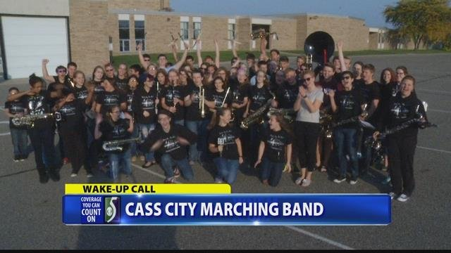 Wake up call with cass city marching band wnem tv 5