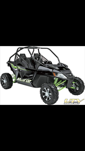 Stock photo of Arctic Cat Wildcat. Provided by police.