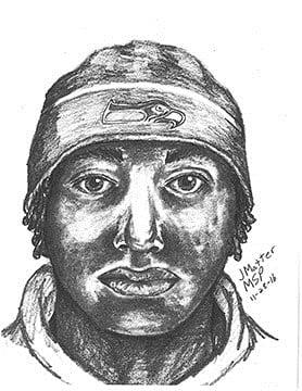 St. Clair Shores suspect sketch (Source: St. Clair Shores Police Dept.)