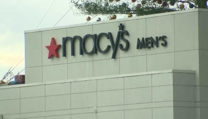 Macy's is reducing its payroll by at least 4,500 people, but says many will be placed in other positions. (Source: Pool/CNN)