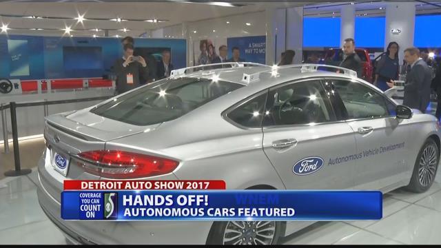 Autonomous vehicles on display at naias wnem tv 5