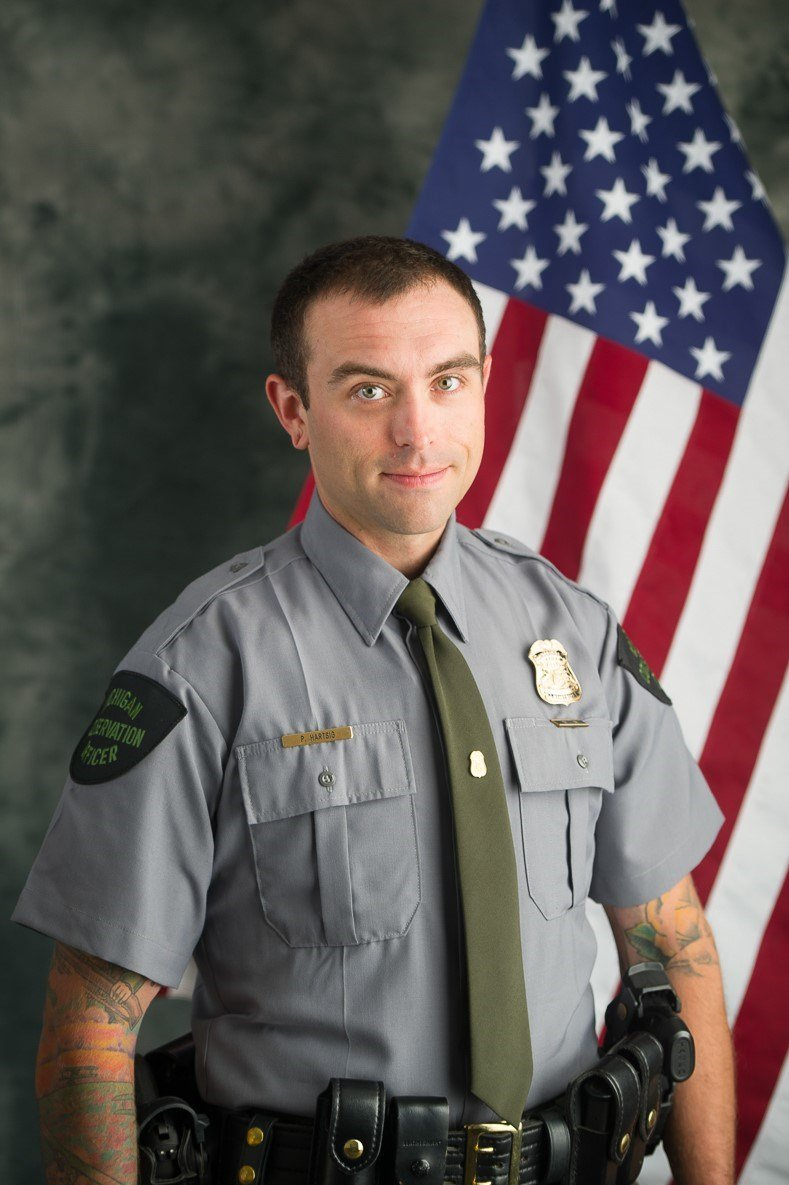 Officer Patrick Hartsig (Courtesy: DNR)
