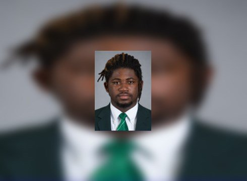 MSU defensive lineman Auston Robertson charged
