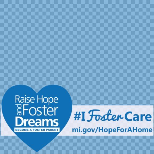MDHHS is encouraging Michiganders to change their profile picture on Facebook to show their #IFosterCare heart.
