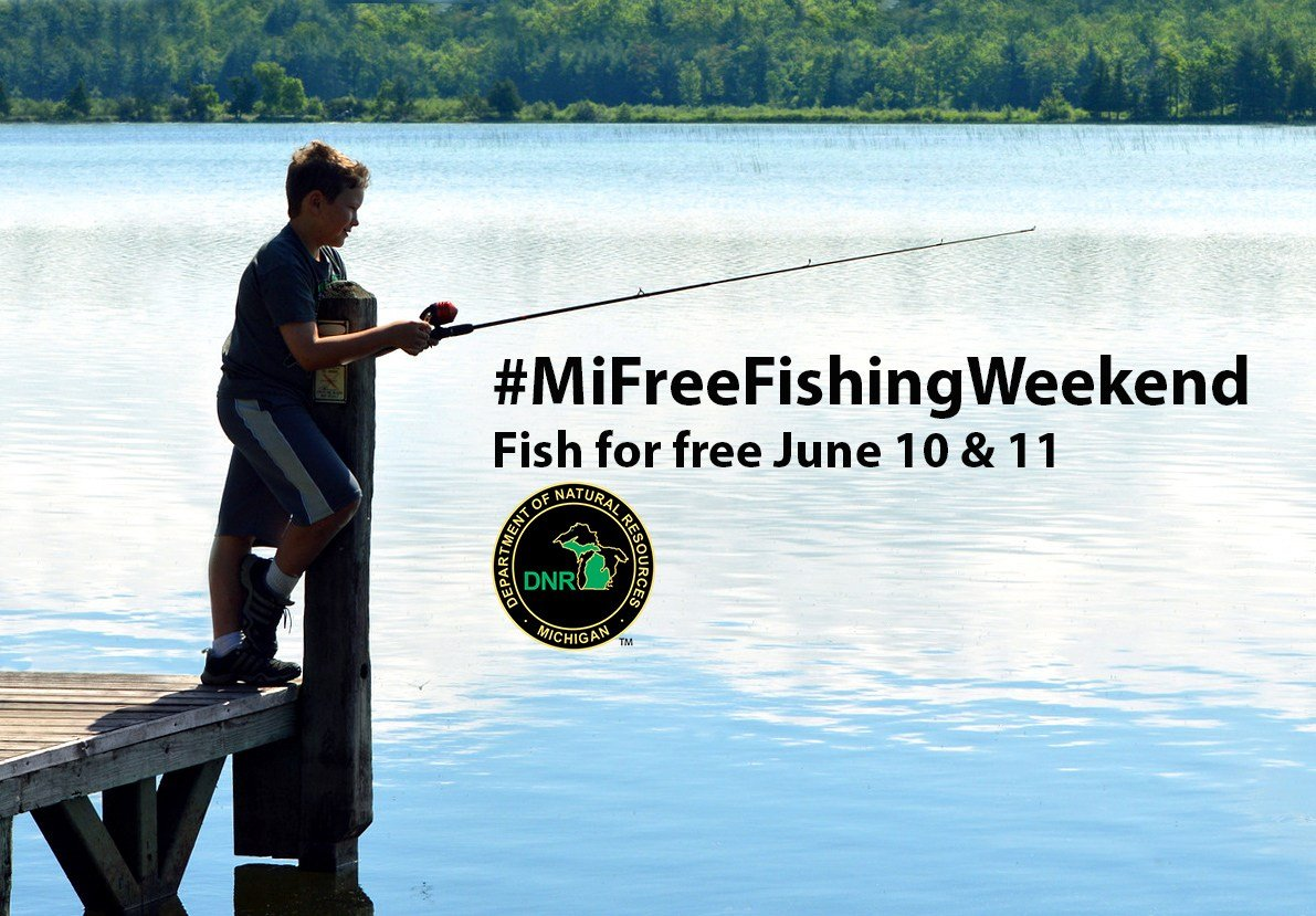 Michigan offers exceptional fishing. Experience it for yourself during the 2017 Summer Free Fishing Weekend June 10-11.