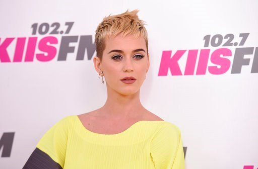 (Photo by Richard Shotwell/Invision/AP). Katy Perry arrives at Wango Tango at StubHub Center on Saturday, May 13, 2017, in Carson, Calif.