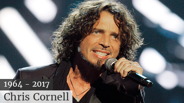 "Rocker Chris Cornell, born July 20, 1964, died ""suddenly and unexpectedly"" on May 17, 2017, according to his representatives. (Source: AP PHOTO)"