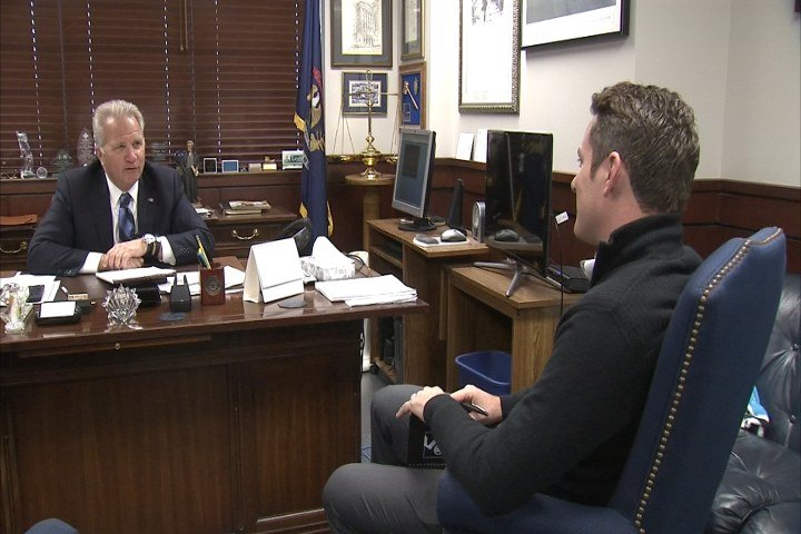 Genesee County Prosecutor David Leyton sits down with David Custer. (Source: WNEM)