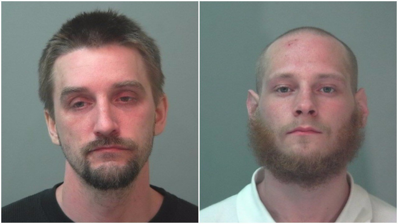 Adam Maxson and Tyler Meffer (Source: Tuscola County Sheriff's Office)