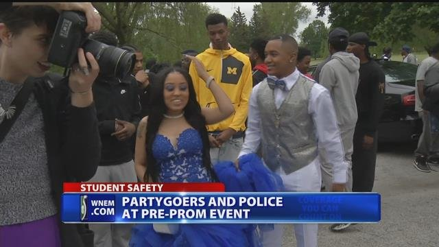 Attendees thankful for police presence at pre-prom event in Saginaw