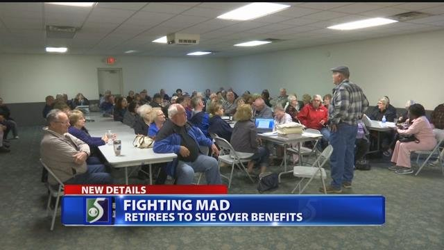 Retirees ready to fight for healthcare benefits after proposed cuts