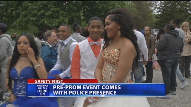 Pre-prom event in Saginaw comes with police presence