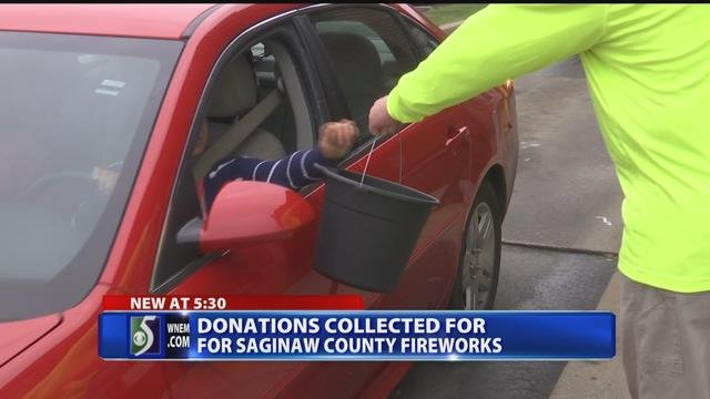 Fundraising kicks off for Saginaw's fireworks show