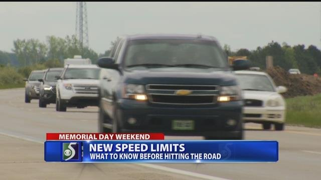 New speed limits in place on some highways