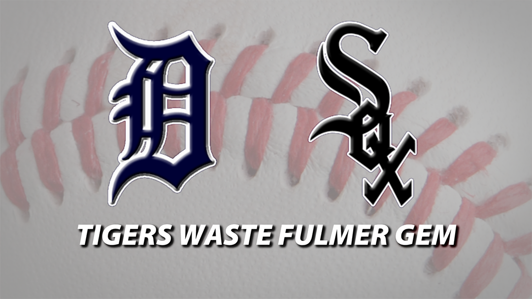 Tigers, White Sox to finish long weekend series