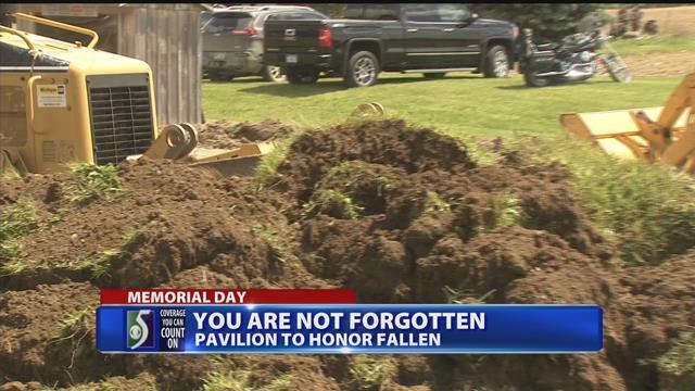Groundbreaking ceremony held for veterans pavilion