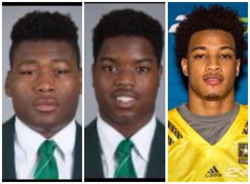 Josh King (left), Donnie Corley (center), Demetric Vance. (Source: MSU Athletics)